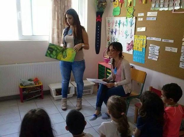 """Η """"Στιγμούλα"""" γίνεται μάθημα για τα παιδιά σε νηπιαγωγείο της Ρόδου!"""