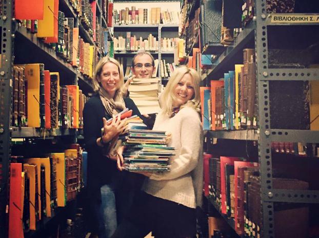 Δωρεά στη «Ζωσιμαία» Βιβλιοθήκη Ιωαννίνων