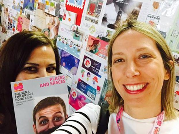 Η Μαρίνα Γιώτη στο Παγκόσμιο Φεστιβάλ Παιδικού Βιβλίου στη Μπολόνια