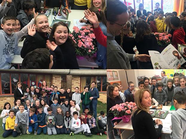 Τα βιβλία της Μαρίνας Γιώτη στην Ιταλία!