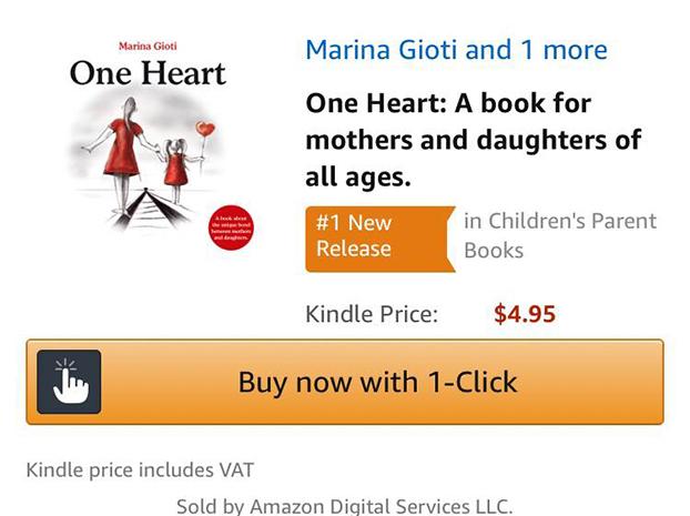 Το «Μια καρδιά» είναι Νο1 νέα κυκλοφορία στο Amazon για γονείς!